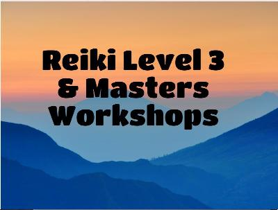 Reiki Level 3 and Master's Classes