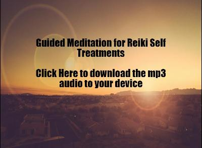 Student Support - Guided Meditation for Reiki Self Treatments